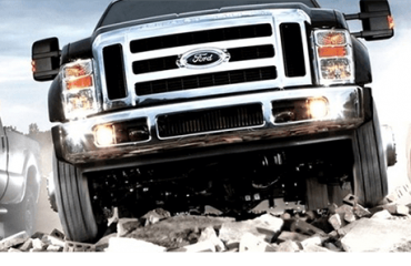 Used truck lineup
